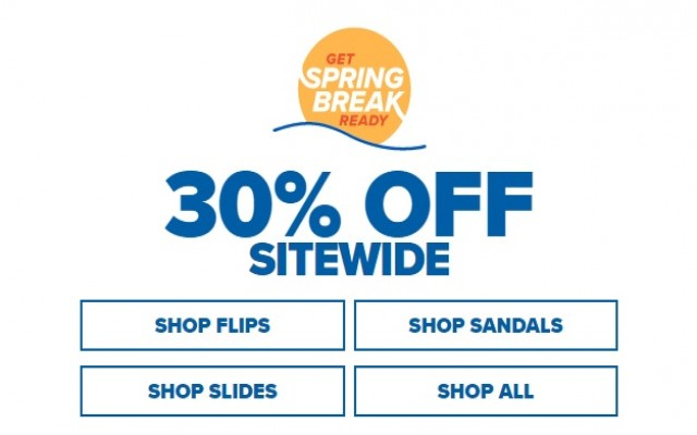Coupon for: Crocs Canada Spring Break Sale: Get extra 30% off