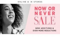 Coupon for: Le Chateau Canada NOW or NEVER Sale