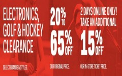Coupon for: Sport Chek Canada Sale: Up to 65% off retail prices + extra savings