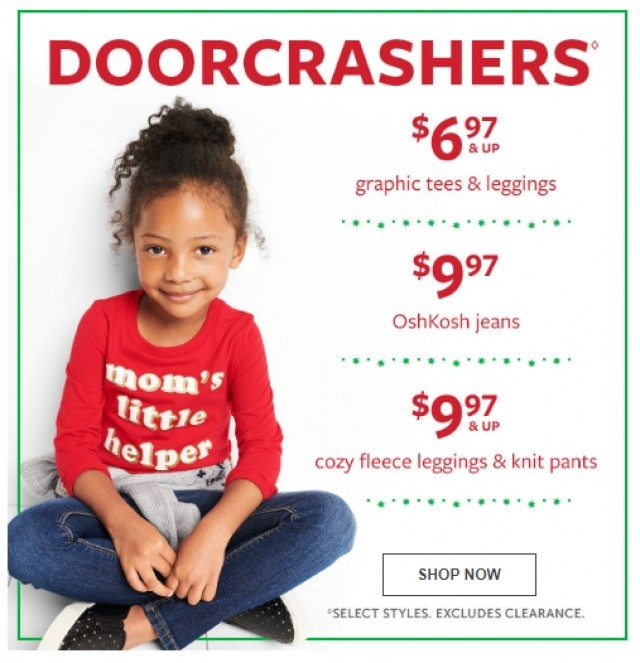 Coupon for: Carter's Oshkosh - Doorcrashes