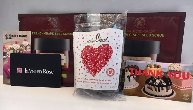 Coupon for: Dufferin Mall - FREE Valentine's Day Gift
