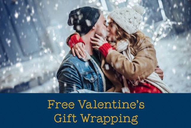 Coupon for: Burlington Centre - Free Valentine's Gift Wrapping