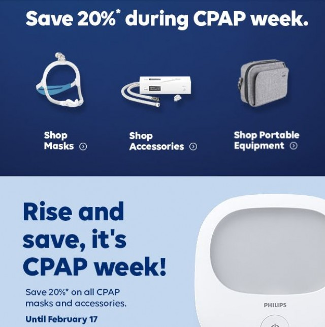 Coupon for: Wellwise.ca - Save 20% during CPAP week