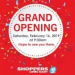 Coupon for: White Oaks Mall - Grand opening Shoppers Drug Mart
