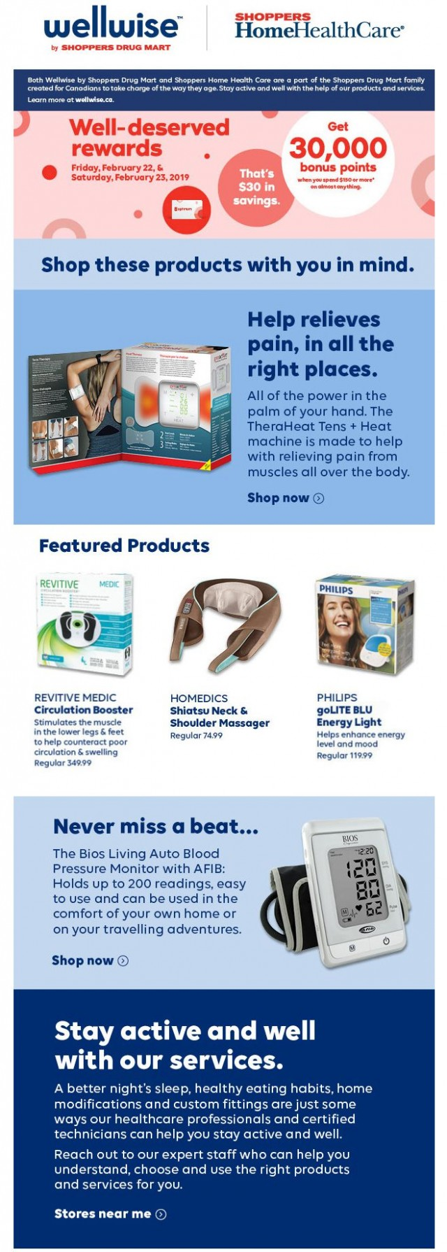 Coupon for: Wellwise by Shoppers Drug Mart - Well-deserved rewards!