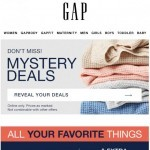 Coupon for: Gap - They may never take them off