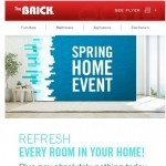 Coupon for: The Brick - Pay nothing today to refresh your home.