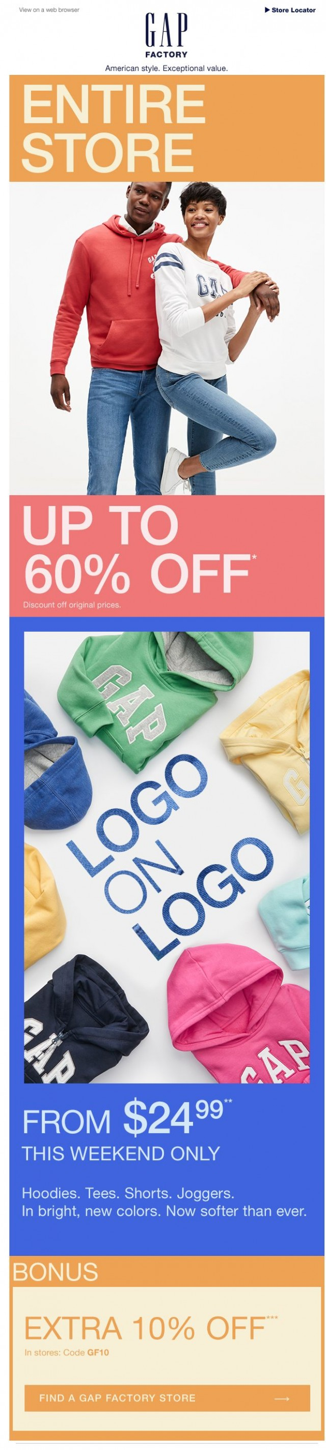Coupon for: Gap Factory - Wait 60% off!?