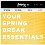 Coupon for: Journeys - Spring Break Essentials ✔