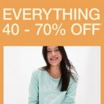 Coupon for: Gap Factory Canada - Refresh your spring wardrobe with 40 - 70% off!