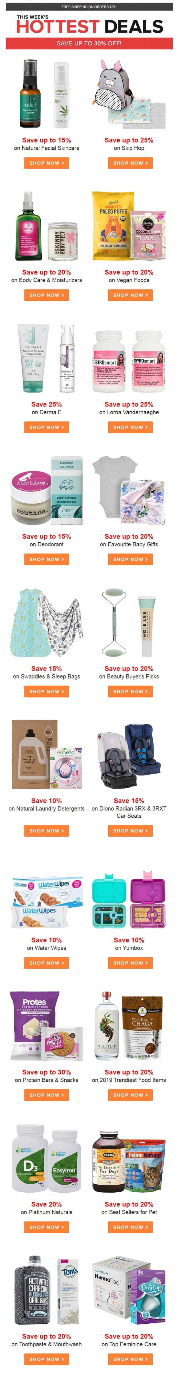 Coupon for: Well.ca - Happy Monday!