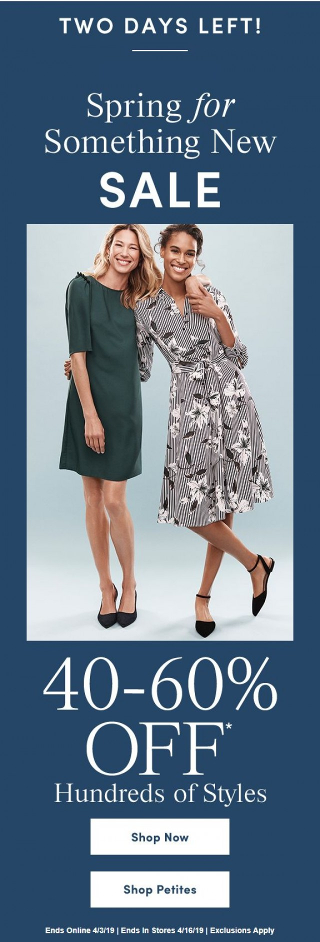 Coupon for: Ann Taylor Factory - Spring To It: This Sale Ends Soon