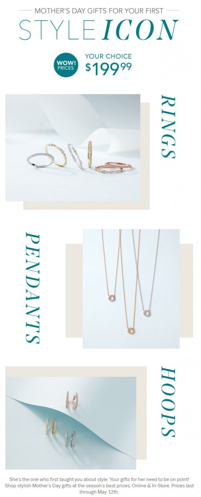Coupon for: Helzberg Diamonds  - WOW MOM on Mother's Day