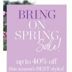 Coupon for: TALBOTS - SPRING SALE!