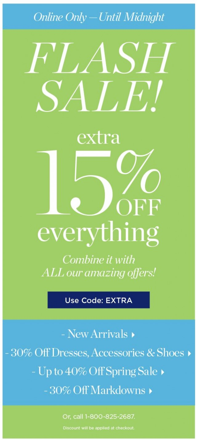 Coupon for: TALBOTS - ⚡ FLASH SALE! ⚡ Click Quick Before It's Gone!