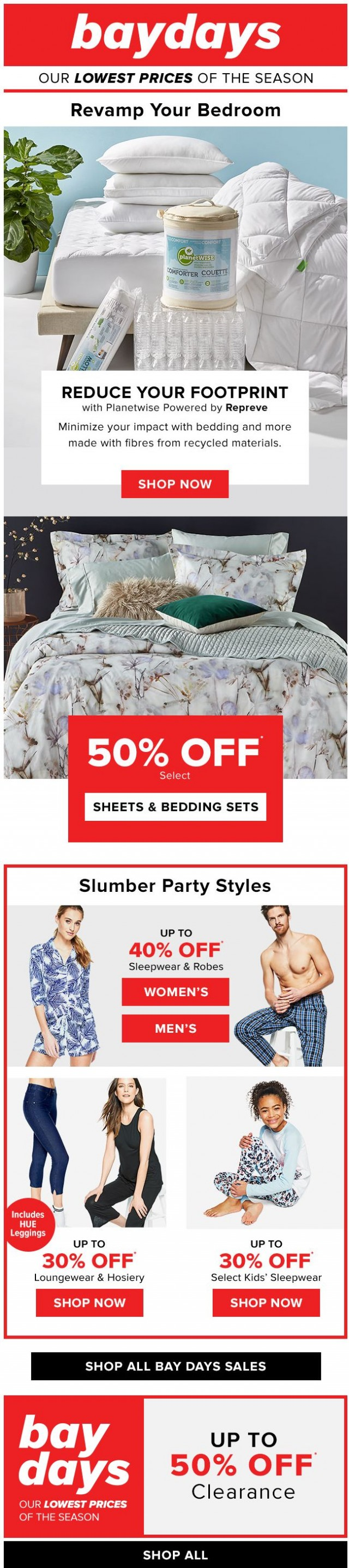 Coupon for: Hudson's Bay - Dream BIG!