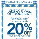 Coupon for: Bath & Body Works - things Bath & Body Works - things we love: gingham, spring breezes + 20% off!