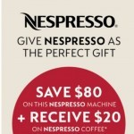 Coupon for: Kitchen Stuff Plus - $80 Off Nespresso Machines!