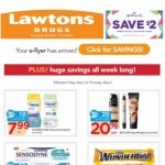 Coupon for: Lawtons Drugs - Open your weekly Lawtons e-flyer for savings!