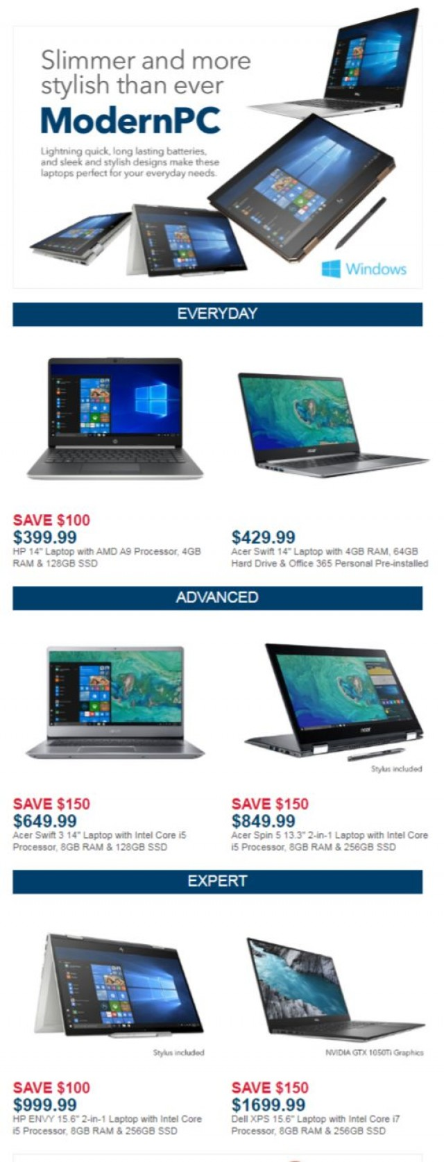 Coupon for: Best Buy - Meet the ModernPC