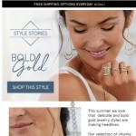 Coupon for: Zales - Confidently Shine in Bold Gold