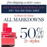 Coupon for: Talbots - Reveal the secret to 50% OFF!