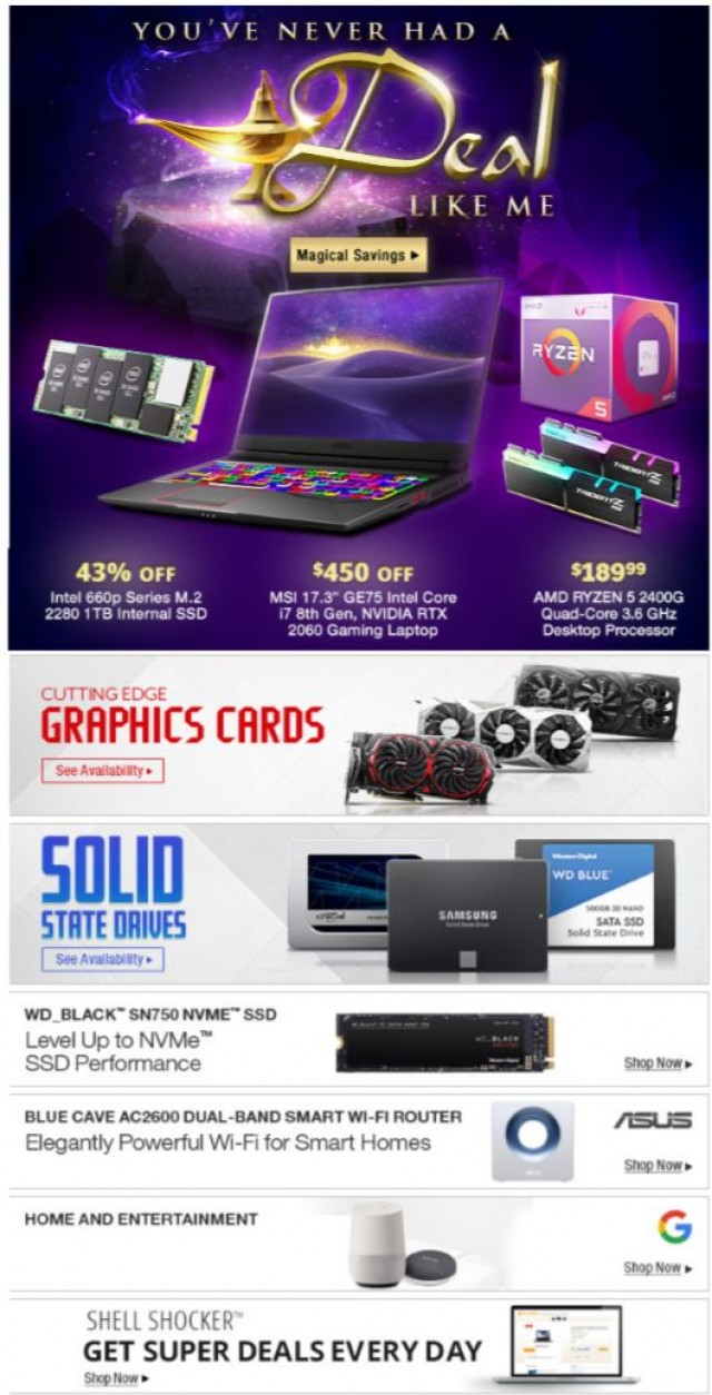 Coupon for: Newegg - $450 OFF 17.3