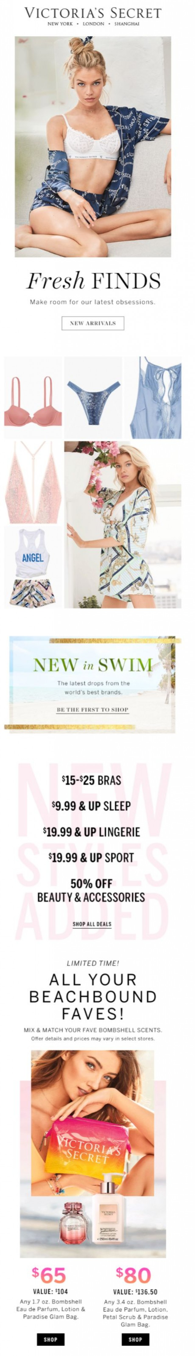 Coupon for: Victoria's Secret - Check out these NEW ARRIVALS
