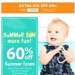 Coupon for: carter's - Oh, baby! Get set for summer!