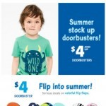 Coupon for: carter's  - $4+ doorbusters, YAY!