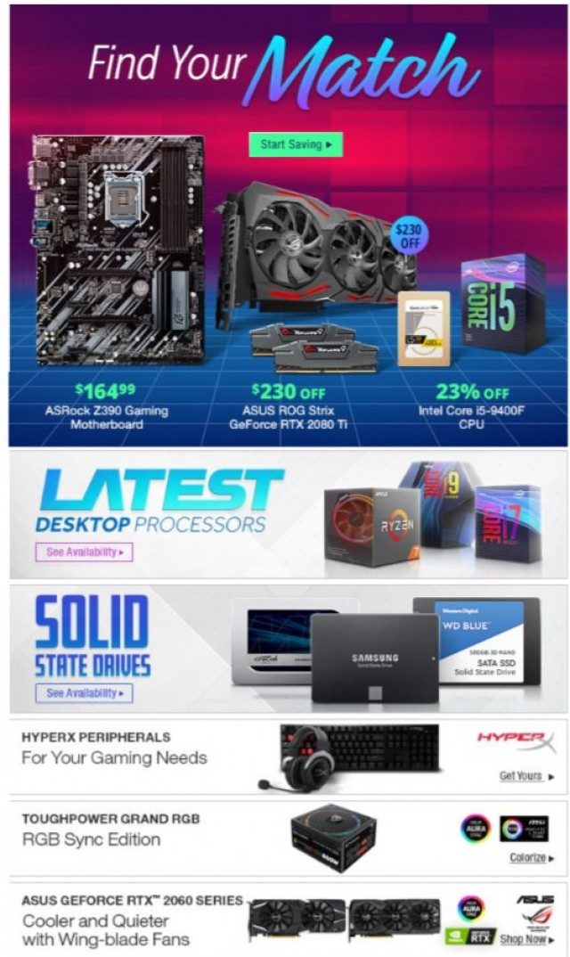 Coupon for: Newegg - $230 OFF ASUS ROG Strix GeForce RTX 2080 Ti