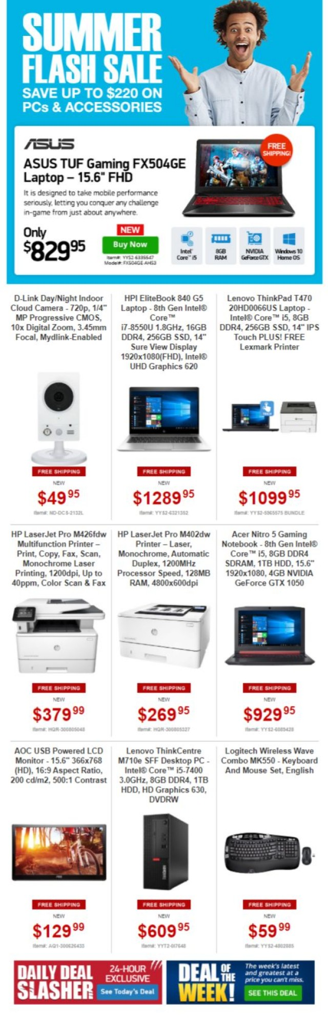Coupon for: TigerDirect.ca - Summer Tech Sale
