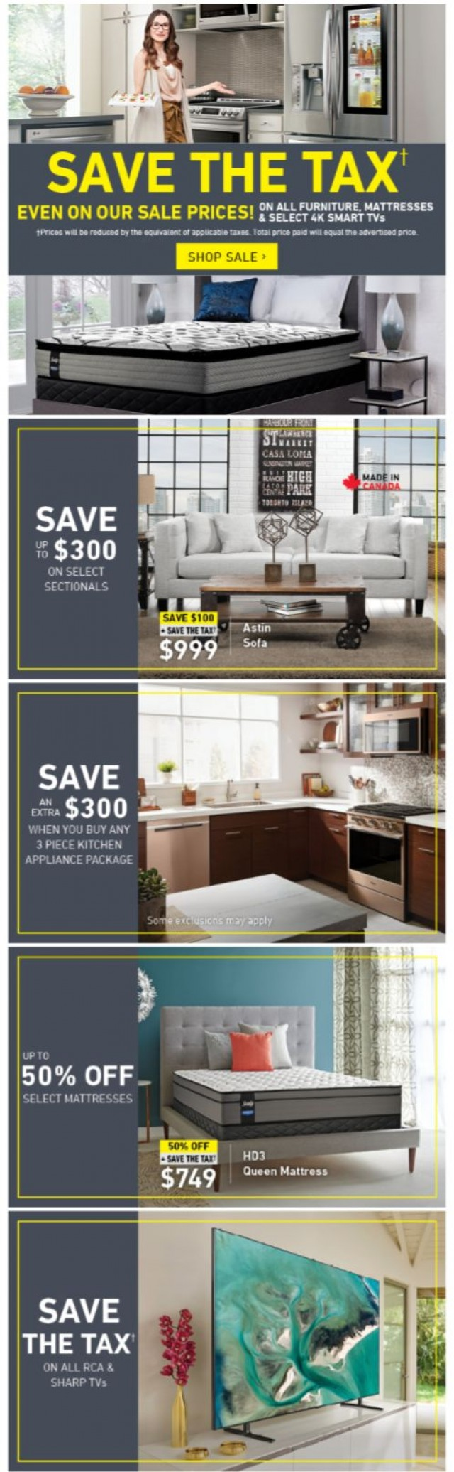 Coupon for: Leon's -  Your Home Makeover Discount