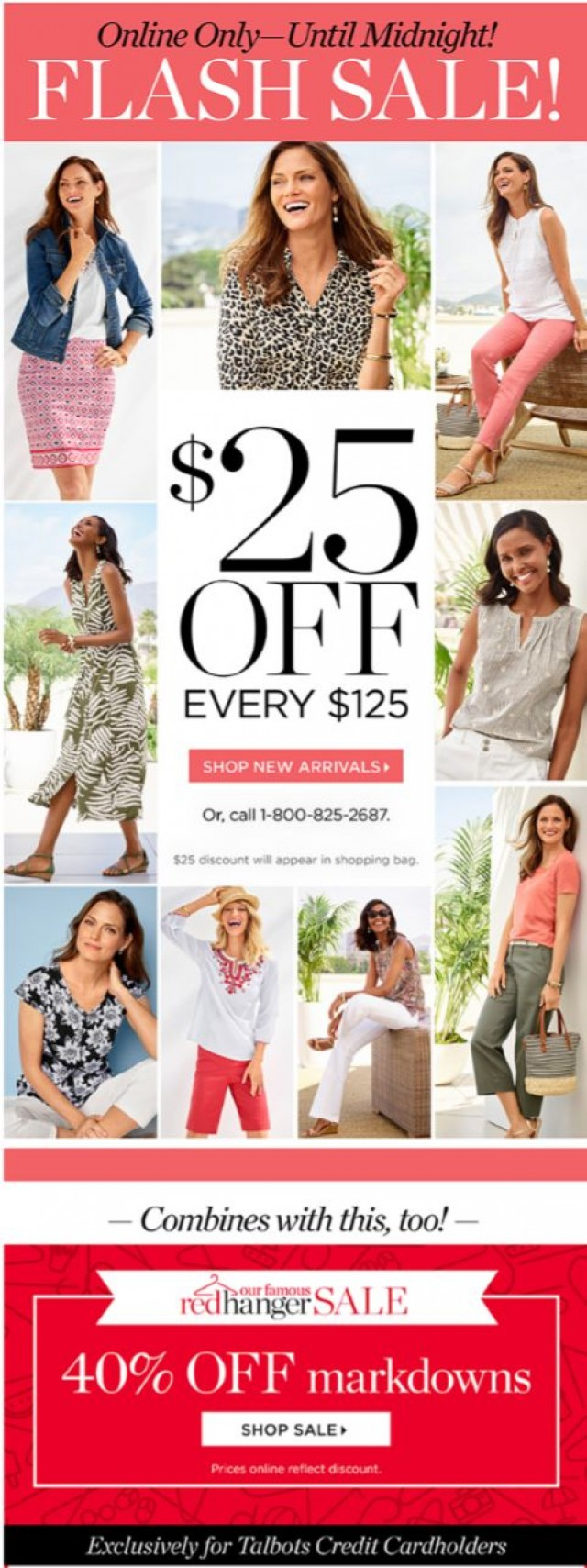 Coupon for: TALBOTS - ⚡ HOURS LEFT ⚡ Savings ON TOP OF savings!