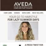 Coupon for: Aveda - Lazy summer hair | Free full-size