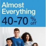 Coupon for: GAP - 40 - 70% Off Almost EVERYTHING.