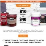 Coupon for: The Home Depot Canada - See how you can save up to $40 on select paint