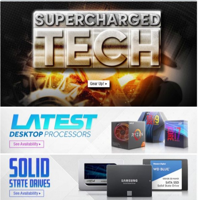 Coupon for: Newegg - Supercharged Tech Deals You Won't Want to Miss!