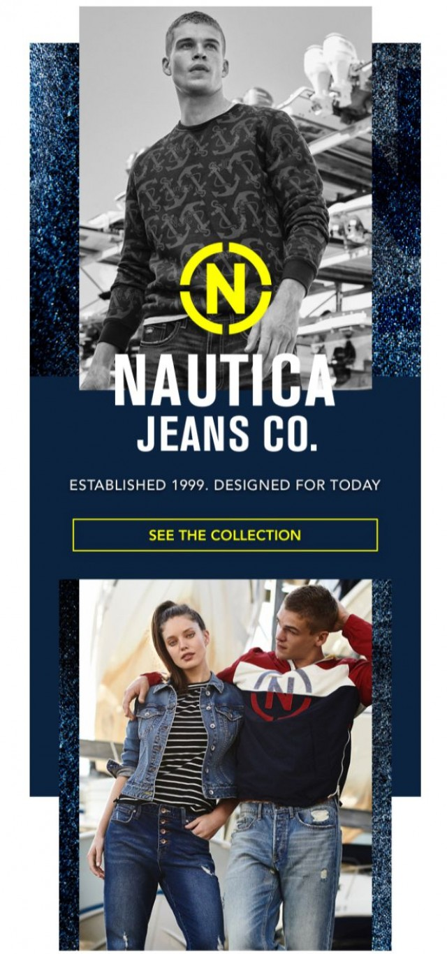 Coupon for: Nautica - Introducing the New Nautica Jeans Co.