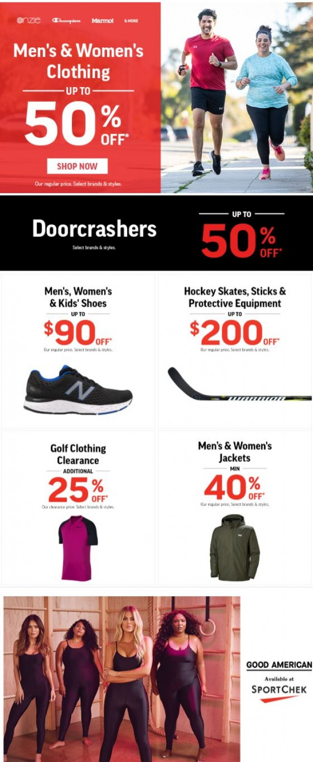 Coupon for: Sport Chek - Move Into Fall