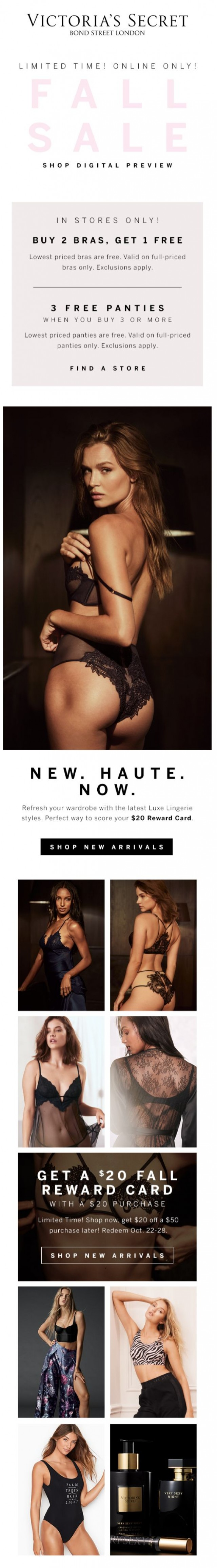 Coupon for: Victoria's Secret - New Luxe Lingerie looks to love...