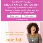Coupon for: LOFT Outlet - Shop these fall obsessions now