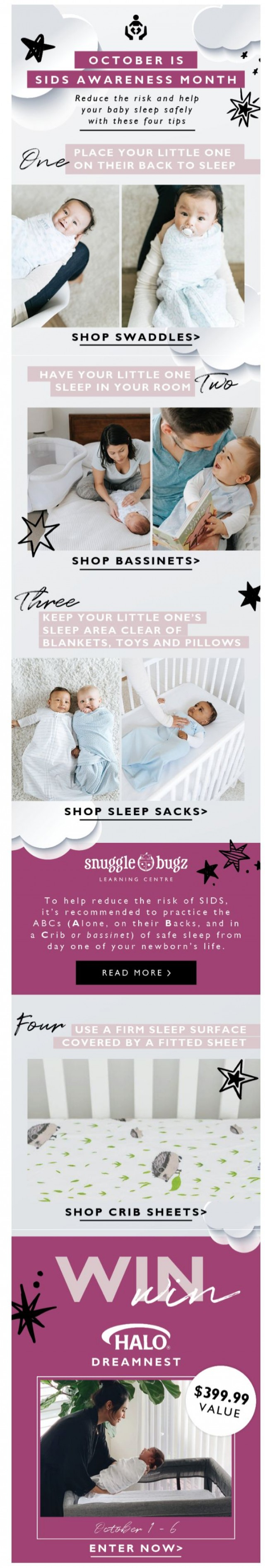 Coupon for: Snuggle Bugz - The Learning Centre