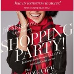 Coupon for: TALBOTS - YOU'RE INVITED to our ALL DAY Shopping Party!