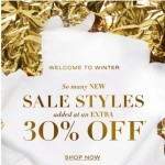 Coupon for: BCBGMAXAZRIA - Welcome to Winter!