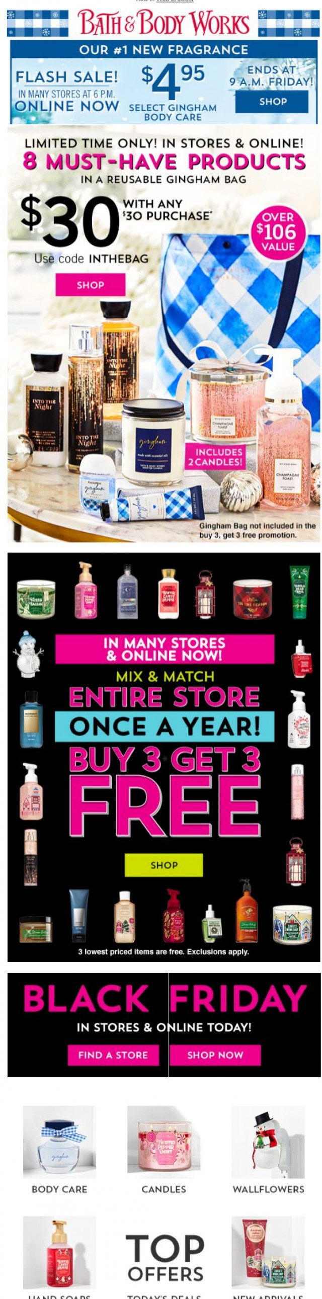 Coupon for: Bath & Body Works - FYI: our BEST YET is going so fast...