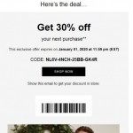 Coupon for: RW&CO - Here's the deal…