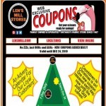 Coupon for: Len's Mill Stores - Coupon Countdown To Christmas