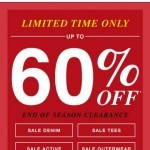 Coupon for: GUESS Factory Men - Limited time only, sale up to 60% off
