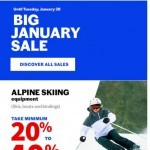 Coupon for: Sports Experts - Get set for the snow season!